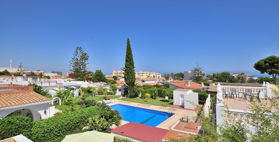 Semi detached villa, El Pinillo, Torremolinos, Spain